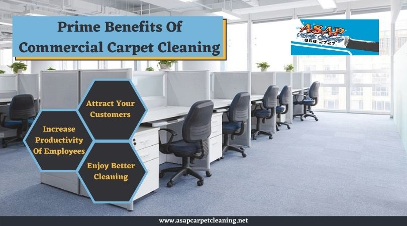 Prime Benefits of Commercial Carpet Cleaning