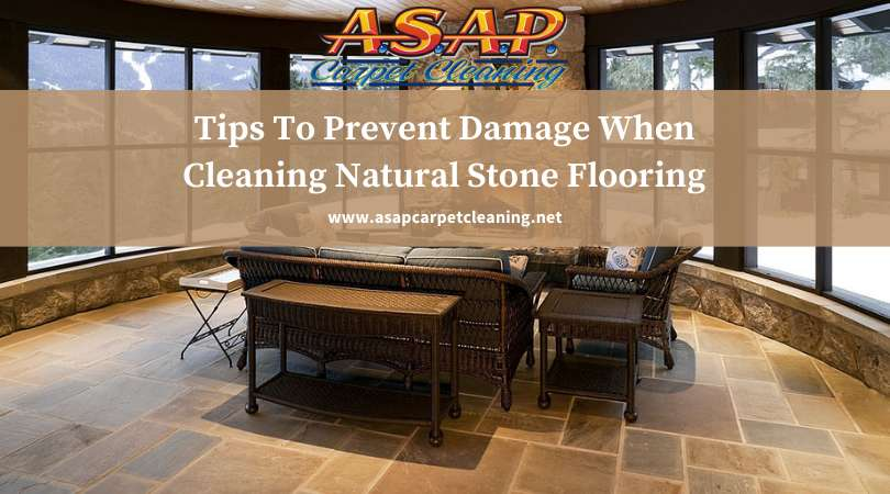 Tips To Prevent Damage When Cleaning Natural Stone Flooring
