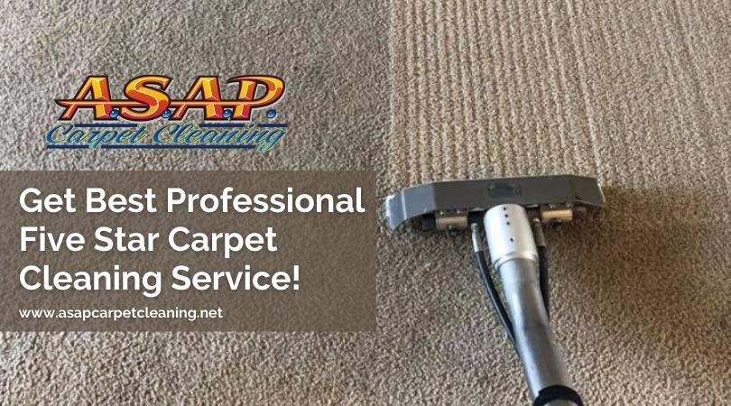 Get Best Professional Five Star Carpet Cleaning Service!