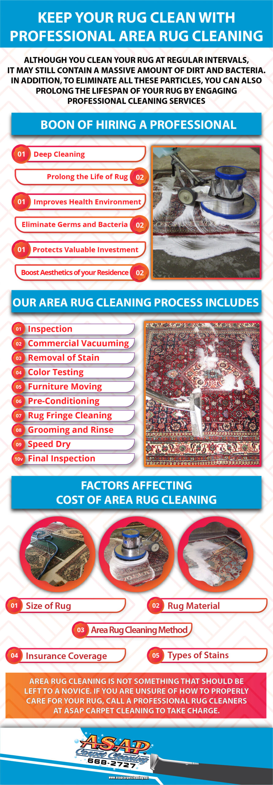 Professional Area Rug Cleaning Turlock CA