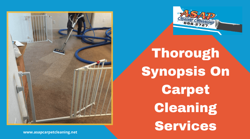 Thorough Synopsis On Carpet Cleaning Services