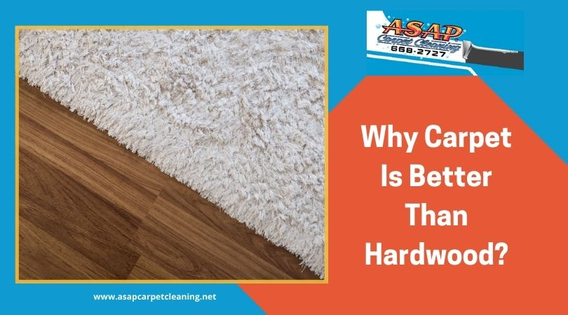 Why Carpet Is Better Than Hardwood?