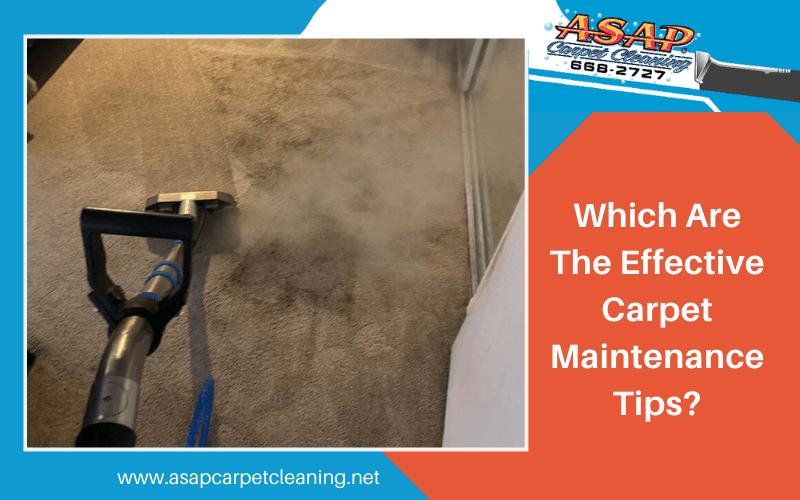 Carpet Maintenance Tips Turlock CA